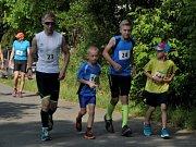 Běh na 2 míle ve Zlíně, červen 2018