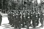 ROK 1977. Zdravotnická družina Československého Červeného kříže Březnice.