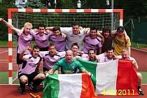 Malá kopaná Zlín, AS Palermo oslavuje třetí titul