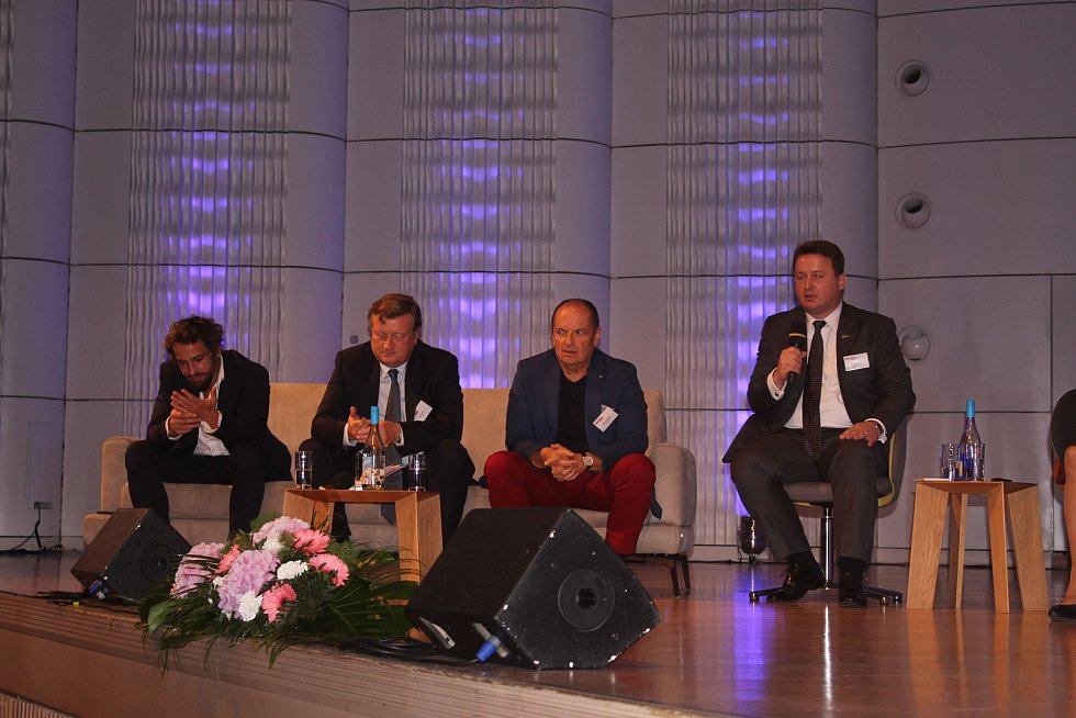 Konference Baťův odkaz Evropě ve Zlíně.