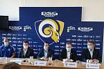 V úterý se uskutečnila tisková konference klubu PSG Berani Zlín před další extraligovou sezonu.