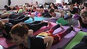 Yogafest 2018 ve Zlíně.
