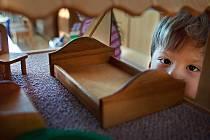 Dětské centrum ve Zlíně – Burešově má ve své péči asi pětadvacet dětí.