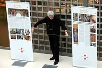 Výstava Gustav Klint v univerzitním centru ve Zlíně.