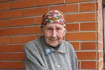 Pamětnice války i baťovského systému Hana Totušková ze Zlína.