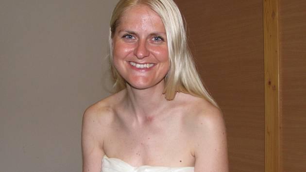 Houslistka Gabriela Demeterová.