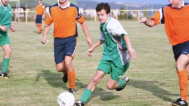 Fotbalisté Mladcové