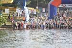 V sobotu 24. června se v Otrokovicích konal tradiční triatlonový závod Moraviaman. Jedním z favoritů byl i domácí matador Petr Vabroušek.