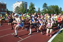 Běhu olympijského dne ve Zlíně 2016.