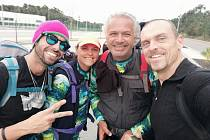 Kondiční trenér a masér fotbalistů Fastavu Zlín Michal Molek se z Lisabonu vydal pěšky do Porta. Za dvanáct dní ušel čtyři sta kilometrů.
