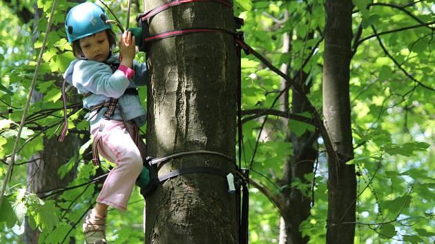 Den stromů na hradě Lukově. Ilustrační foto