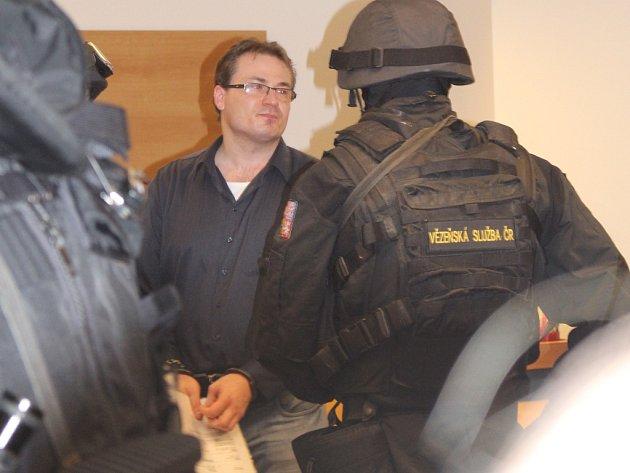 Martin Bódiš u krajského soudu ve Zlíně