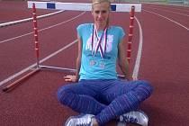Nejlepší zlínská atletka Kateřina Hálová