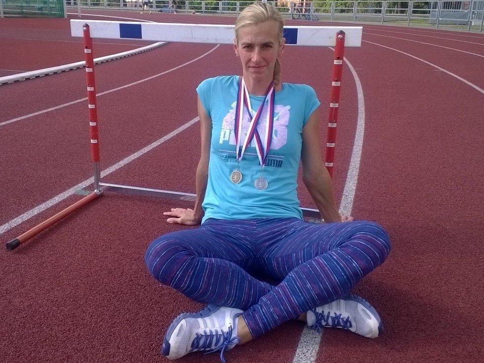 Kateřina Hálová má na kontě pět trofejí z domácího šampionátu. Uplynulý víkend skončila těsně pod stupni vítězek.