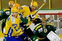 Útočník hokejistů Zlína Bedřich Köhler je jedním z pamětnků posledního valašského derby mezi Vsetínem a Zlínem v srpnu 2009, které skončilo vítězstvím Beranů 7:1.