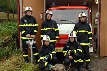 Dobrovolní hasiči ze Smoliny.