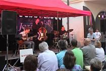 Jazzový festival na zlínském zámku