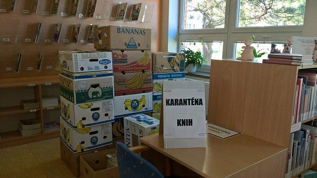 Obvodní knihovna Malenovice.