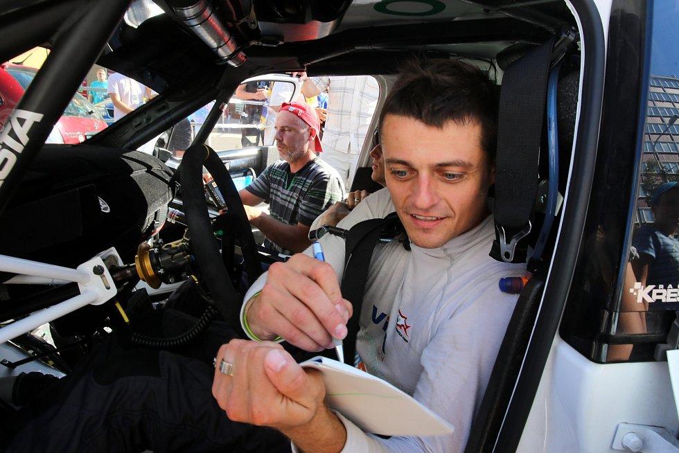 Barum Czech Rally Zlín 2019  cíl T.Kostka