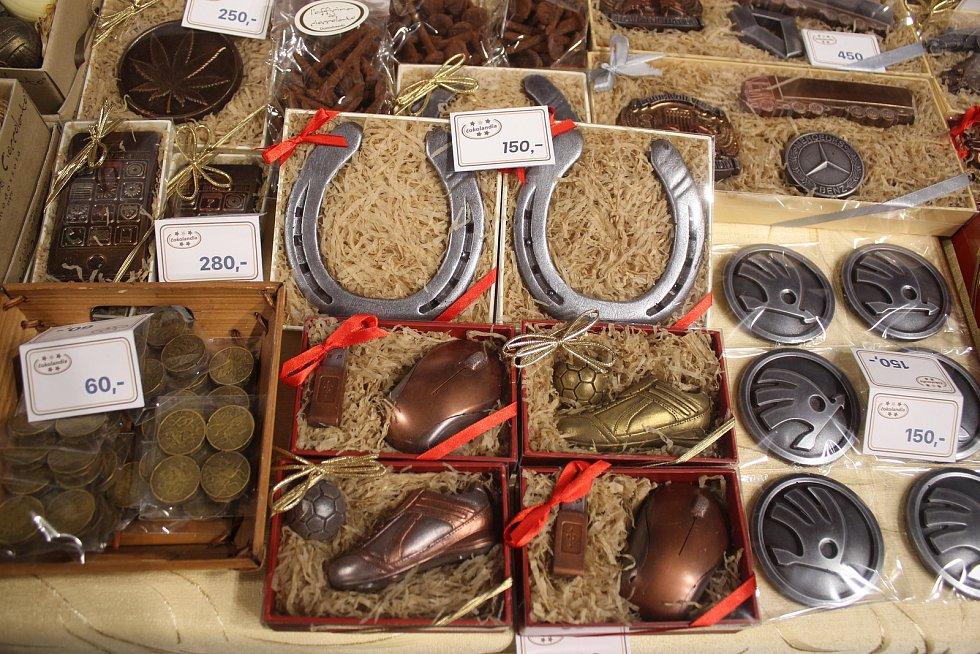 Ve Zlíně začal čokoládový festival.