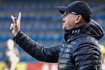 Trenér zlínských fotbalistů Bohumil Páník remízu v Teplicích bral.