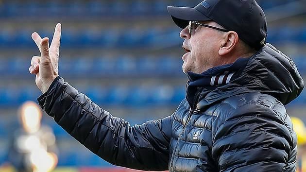 Trenér zlínských fotbalistů Bohumil Páník.
