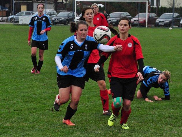 Krajský přebor žen Lužkovice - Brumov 2:1 po penaltách