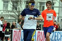 Semifinálové kolo juniorského maratonu pro Zlínský kraj na náměstí Míru ve Zlíně.