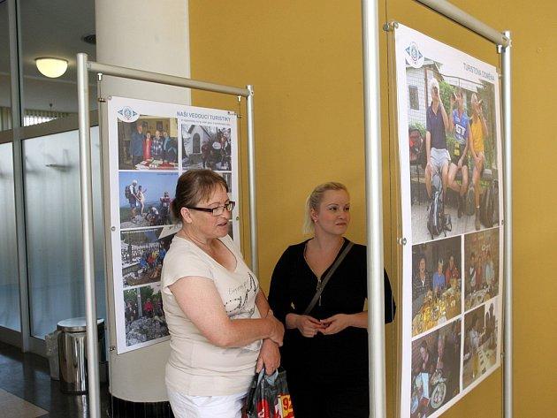 Výstava 90 let klubu českých turistů ve Zlíně v III. etáži krajského úřadu ve Zlíně.
