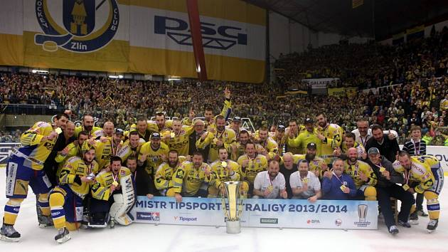 Mistrovská sestava PSG Zlín 2013/14
