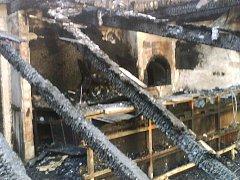 Vyhořelá Koliba na Kocandě