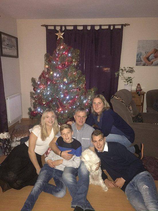 Bývalá nejlepší házenkářka Česka Lenka Fleková si Vánoce s rodinou každý rok náramně užívá