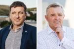 Senátoři za Zlínský kraj Tomáš Goláň a Josef Bazala