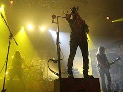 Zimní Masters of Rock navštívilo 3 500 fanoušků. Hala Novesta praskala ve švech.