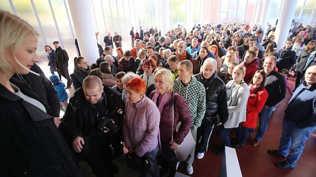 Den otevřených dveří v památníku Tomáše Baťi ve Zlíně.