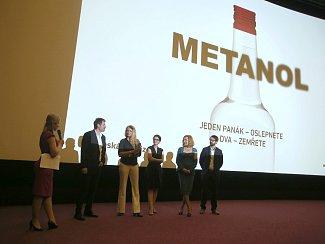 Premiéra filmu Metanol v kině Golden Apple Cinema ve Zlíně.