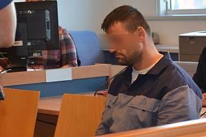 Obžalovaný Roman Š. u zlínského krajského soudu