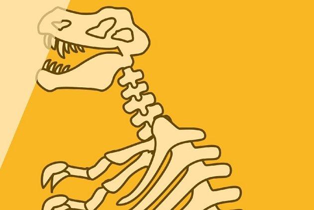 Dinosaurus. Ilustrační foto.