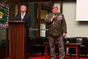 Předseda svazu bojovníků za svobodu Jaroslav Vodička