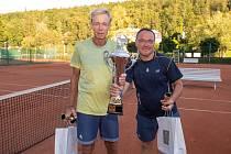 Tenista Berdych po roční pauze ovládl Luhačovice Cup