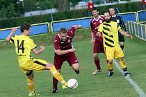 fotbal SK Louky - Kostelec u  Holešova
