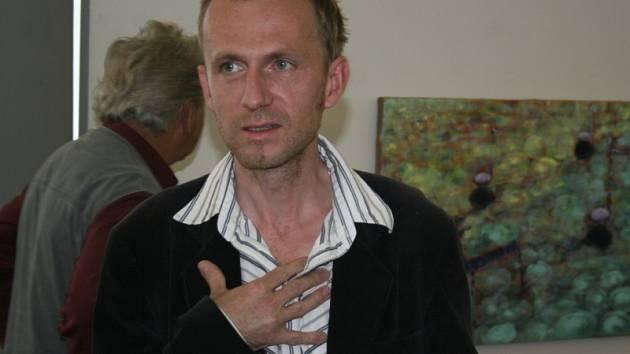 Pavel Preisner už ve Zlíně vystavoval několikrát. Přesto ho nová vernisáž dojala.