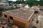 Stavba lékařského domu ve Vizovicích