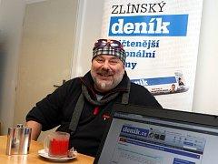 Zdeněk Hrachový, frontman Fleretu
