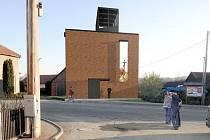 Plánovaná kaple v Loučce, vizualizace