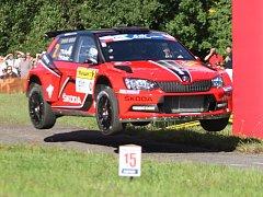 Barum Czech Rally Zlín - 46. ročník, RZ 2 - Březová
