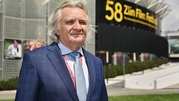 Zlínský podnikatel a prezident Zlín Film Festivalu Čestmír Vančura