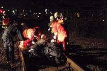 Mladá žena ve Zlíně skončila pod koly vlaku