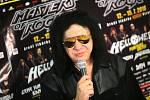 Masters of Rock 2018. Gene Simmons. Tisková konference