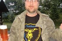 Robert Sudický z Brumova-Bylnice. Pivu dříve neholdoval, teď má vlastní pivovar.